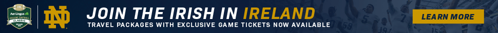 Notre Dame Ireland Ticket Packages